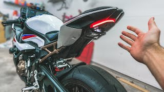 FINALLY! A LEGIT Fender Eliminator for the 2020 BMW S1000RR!