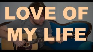 #LoveOfMyLife #Queen #FreddieMercury LOVE OF MY LIFE - Tutorial For Acoustic Guitar