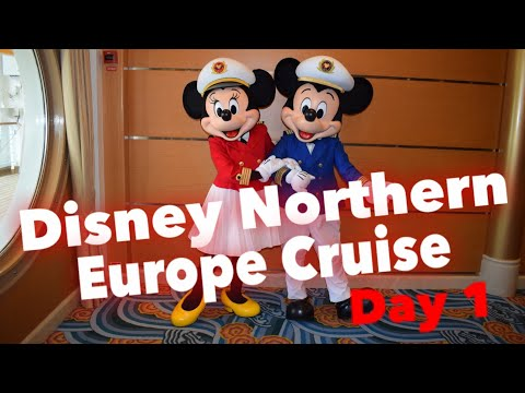 Disney Northern Europe Cruise - Day 1 - Embarkation Day, Mickey's Sail Away Party