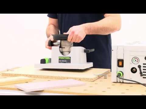 Festool TV Folge 2: Das Vakuum Spannsystem VAC SYS