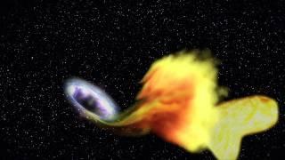 天文學家首次解讀遙遠黑洞吞噬恆星