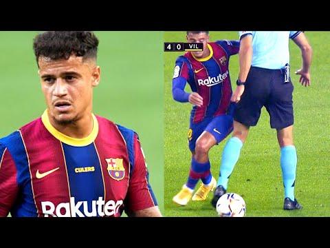 То что СДЕЛАЛ КОУТИНЬО С СУДЬЕЙ взровало интернет УГАР с матча Барселона - Вильярреал
