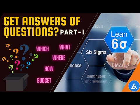 Lean Six Sigma: Training and Certifications | Online Training | PART-1