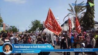 Pawai Kebudayaan se Aceh Meriahkan PKA
