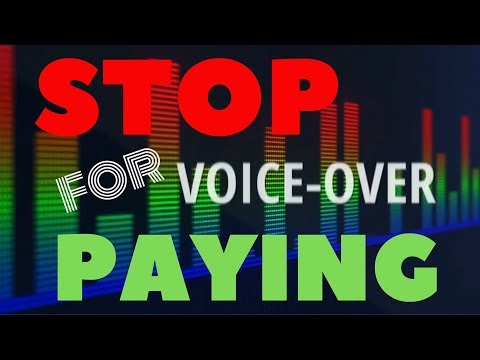 STOP PAYING For Voice-Overs