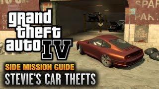 GTA 4 - Stevie's Car Thefts [You Got The Message Achievement / Trophy] (1080p)