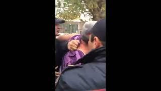 Кавказцы деруться с ментами