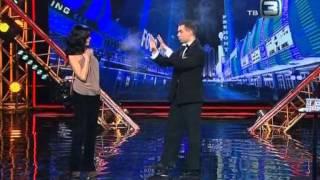 ГОЛЫЙ ФОКУСНИК Андрей Чеканюк и Анастасия Заворотнюк