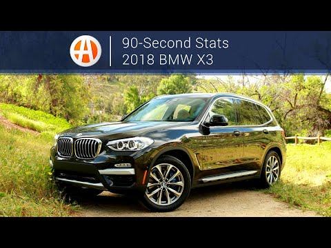 2018 BMW X3 | 90-Second Stats | Autotrader