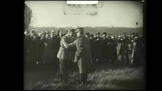 Józef Piłsudski na unikatowym filmie z 1921 roku #shorts