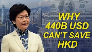 US - China | Why HK's $440B Reserve Can't Defend USD to HKD