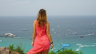 Пляжи острова Ко Лан. РАЙ около Паттайи. Паром, Аренда Байка и Закат