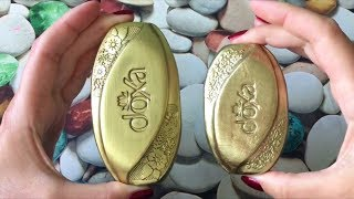Colored soap Doxa/ Режу крашенное мыло Докса/ASMR Soap Carving (NO TALKING)/Relaxing Sounds