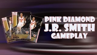 WORLD FIRST PINK DIAMOND J.R. SMITH GAMEPLAY HALF COURT GREENS NBA 2K19 MYTEAM