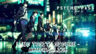 【~abnormalize~】 Psycho-pass ~ Opennig 1 Full