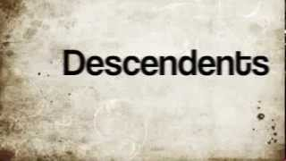Descendents ( Here with me lyrics)
