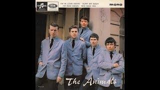 """I´M IN LOVE AGAIN""  THE ANIMALS  COLUMBIA EP SEG 8439 P 1964 UK"