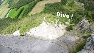 EPIC DIVE OR EPIC CRASH - FPV in SwissAlps #13
