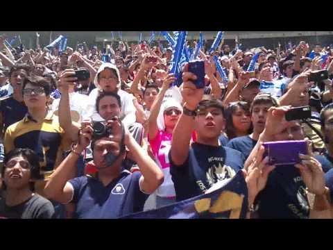 """entrada de CAR'sC en el cuauhtemoc apertura 2013"" Barra: La Rebel • Club: Pumas"