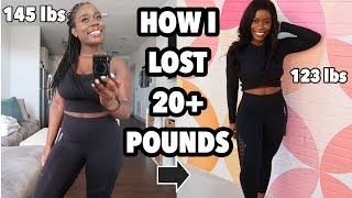 HOW I LOST 20 POUNDS IN 3 MONTHS