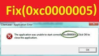 error 0xc0000005 windows 7 - Kênh video giải trí dành cho thiếu nhi