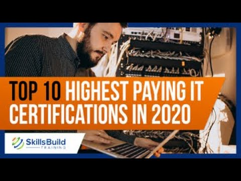 Top 10 Highest Paying IT Certifications in 2020 | Best IT ... - YouTube