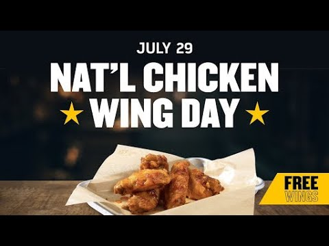 How to celebrate National Chicken Wing Day in McKinney