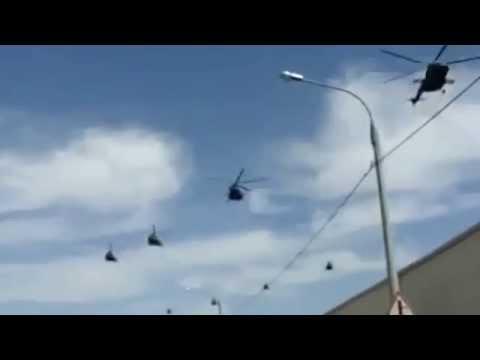 , title : 'Российские вертолеты летят в Крым/Russian helicopters fly in Crimea.'