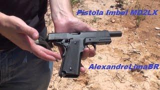Pistola Imbel MD2 LX em .380 ACP - Boa opção nacional para IPSC Light