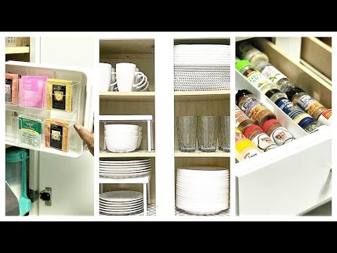 NEW! How To Organize A Small Kitchen | Before & After