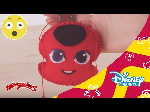 Ladybug: Tutorial Ladybug - Llavero de Tikki | Disney Channel Oficial