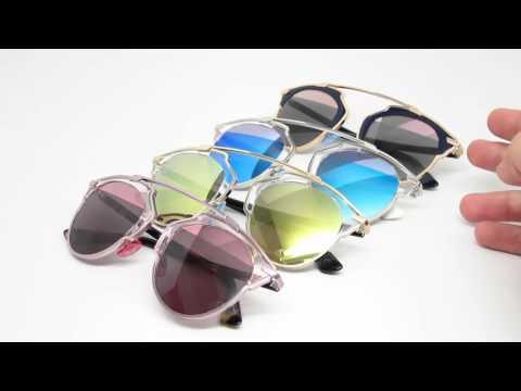 Dior So Real Mirrored Sunglasses | Close Look