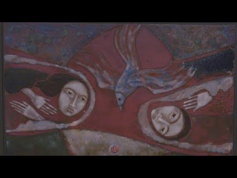 Tűzzel írt képek. Elekes Gyula erdélyi zománcművész tárlata  aTatabányai Múzeumban, 2018