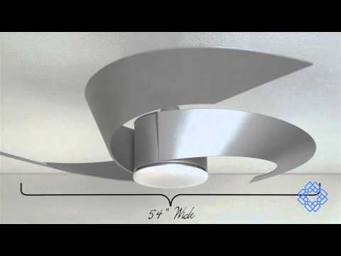 Video for Torto Metro Gray 52-Inch Ceiling Fan with Opal Frosted Glass