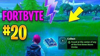 FortByte #20 Found at the center of any of the first three Storm Circles LOCATION