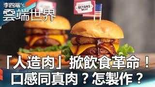 「人造肉」掀飲食革命!口感同真肉?怎製作?- 李四端的雲端世界