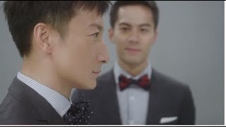 【時尚煲呔賽馬日】兩大香港泳壇男神-方力申、朱鑑然演繹男人的浪漫