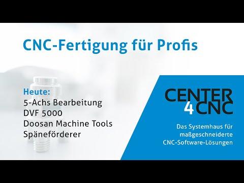 5-Achs CNC Bearbeitung Doosan DVF 5000 mit ESPRIT TNG
