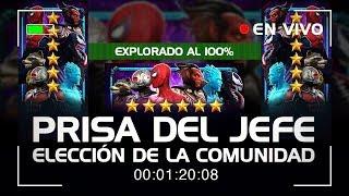 Prisa del Jefe: Elección de la Comunidad (EXPLORADO AL 100%) | Marvel Contest of Champions