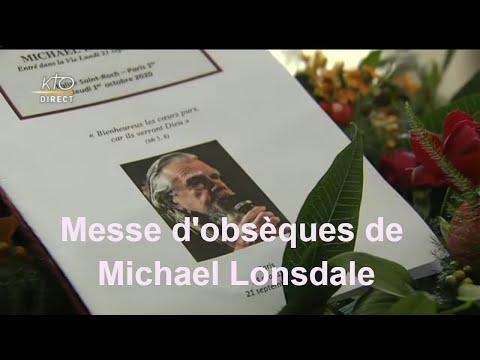 Messe d'obsèques de Michael Lonsdale