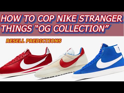 "HOW TO COP NIKE STRANGER THINGS ""OG COLLECTION"" 
