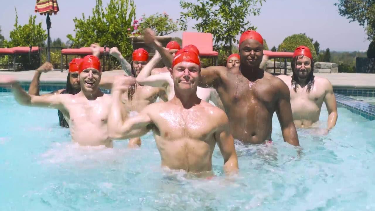 Как бы выглядело мужское синхронное плавание - прикол