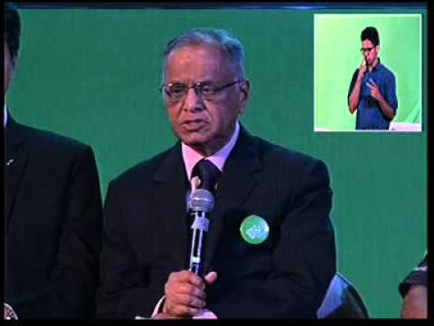 Mr. Narayana Murthy at Limca Book of Records Event