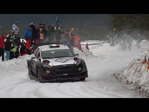 Leg 3 - Rally Sweden 2019 - L. Bertelli / S. Scattolin - Ford Fiesta WRC+