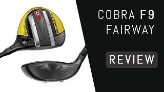 TXG Tour Experience reviews the Cobra king F9 Speedback Fairway