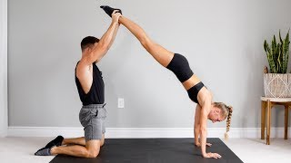 10 MIN COUPLES WORKOUT CHALLENGE