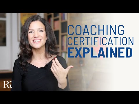 Coaching certification explained
