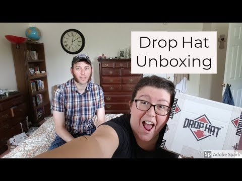 Drop Hat Subscription Unboxing | May 2018
