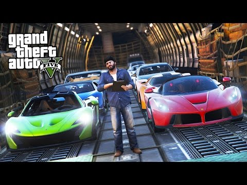 GTA 5 Real Life Mod #41 - SELLING & TRANSPORTING EXOTIC SUPERCARS!! (GTA 5 Mods)