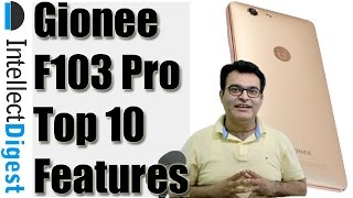 Top 10 Features Of Gionee F103 Pro / QMobile Noir LT700 Pro - Reasons To Buy